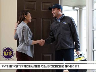 Why NATE® Certification Matters for Air Conditioning Technicians
